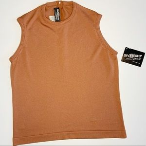NWT Vintage Givenchy Sport Burnt Orange Tank